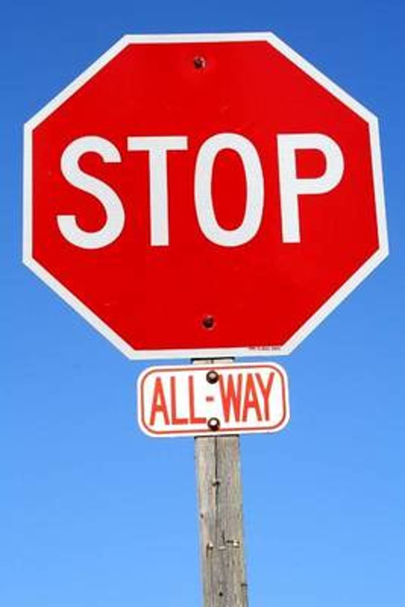 The All-Way Stop Sign Journal