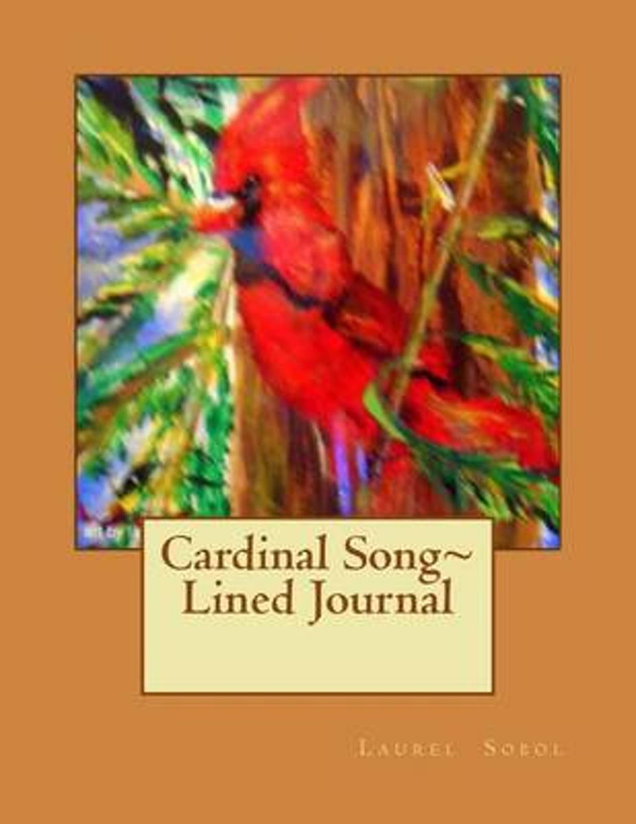 Cardinal Song Lined Journal