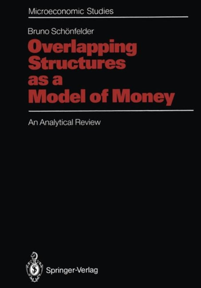 Overlapping Structures as a Model of Money