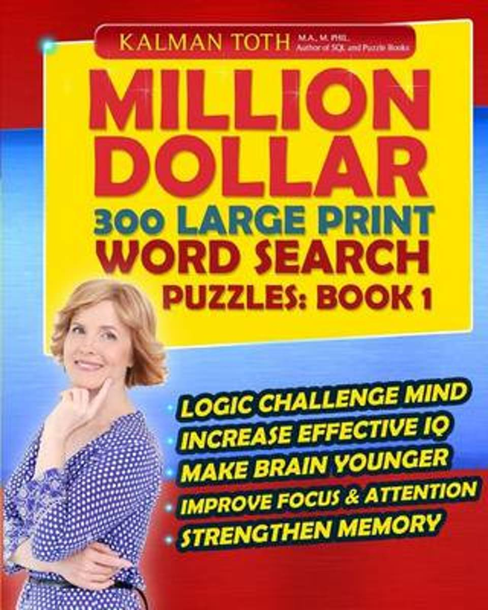 Million Dollar 300 Large Print Word Search Puzzles