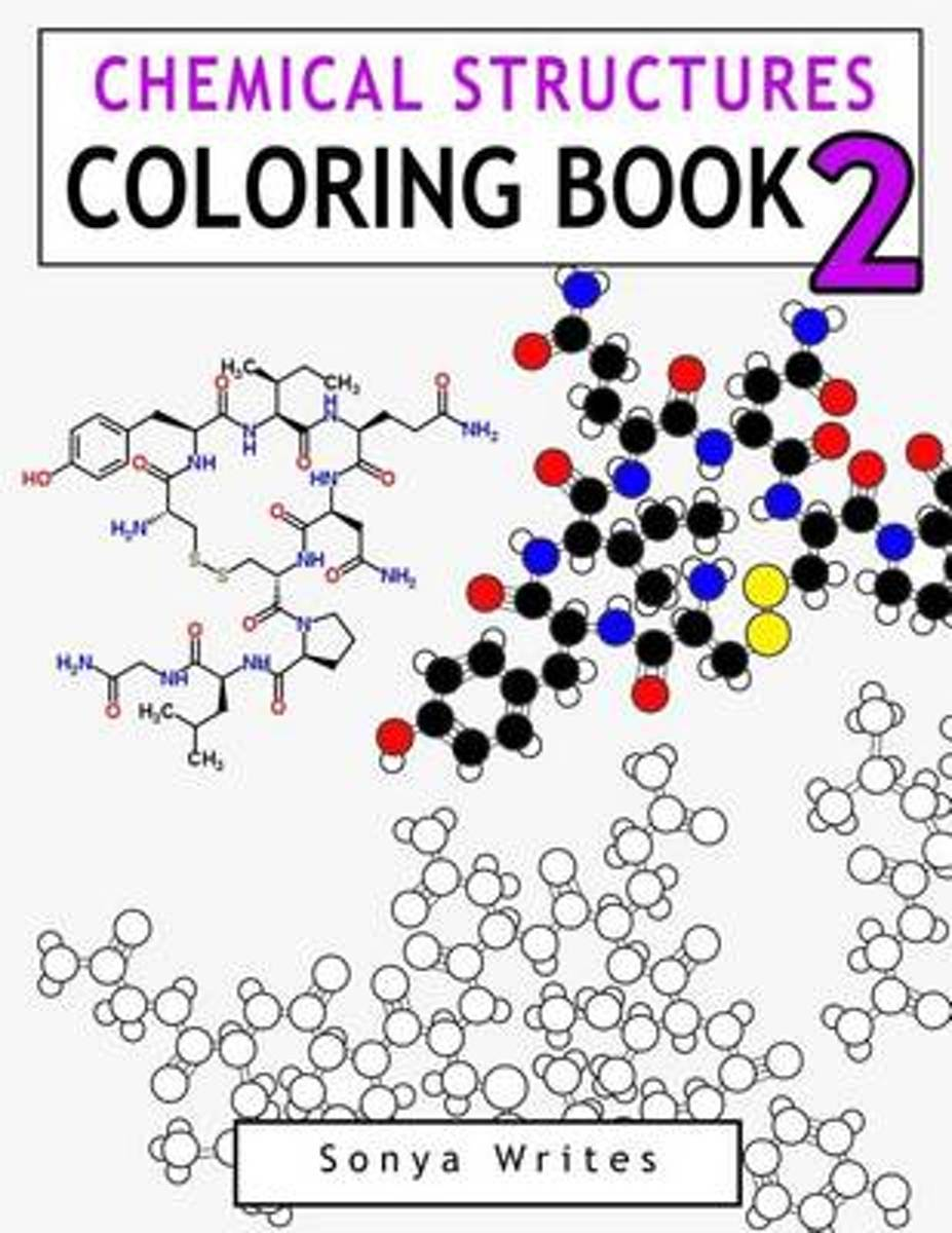 Chemical Structures Coloring Book 2