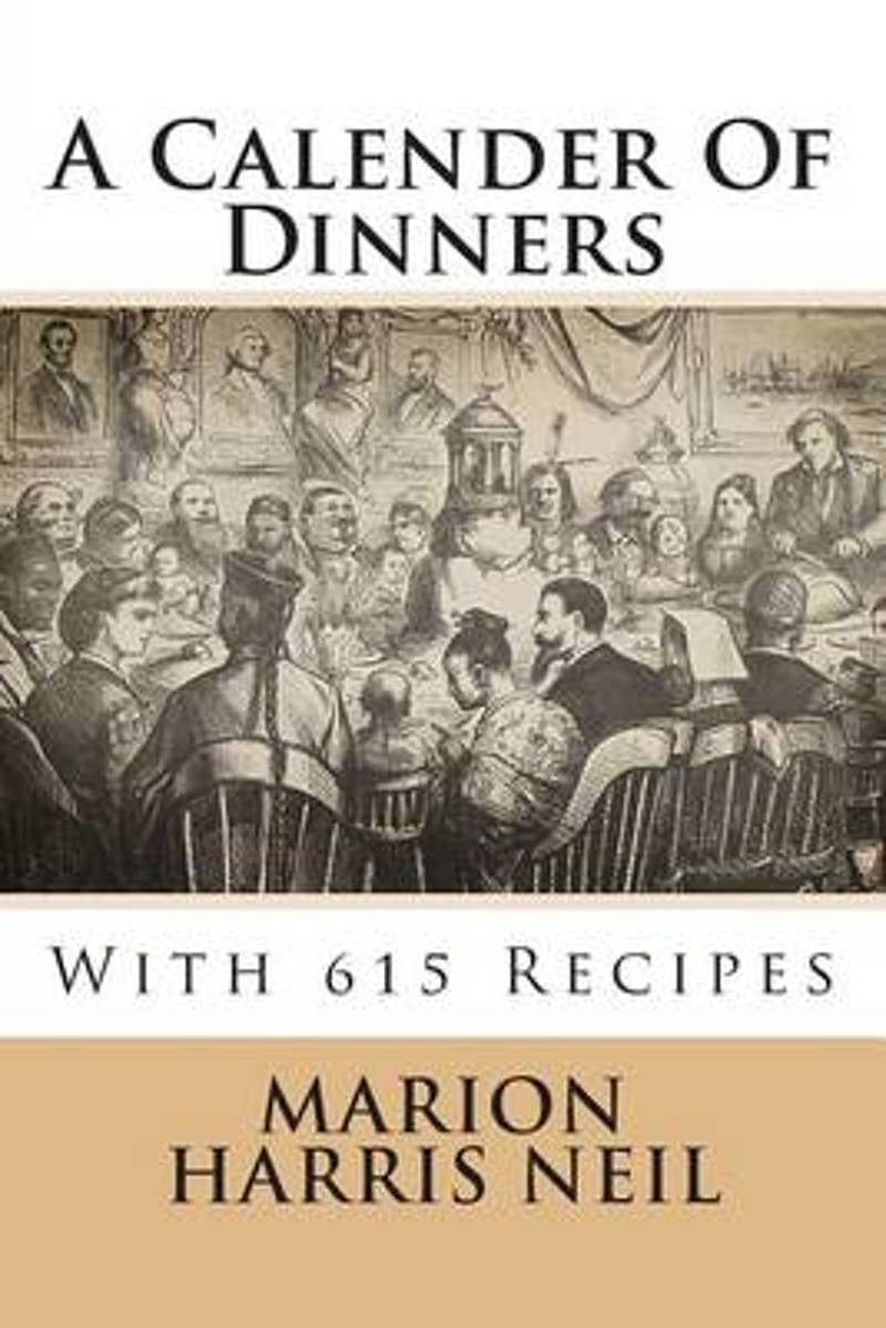 A Calender of Dinners