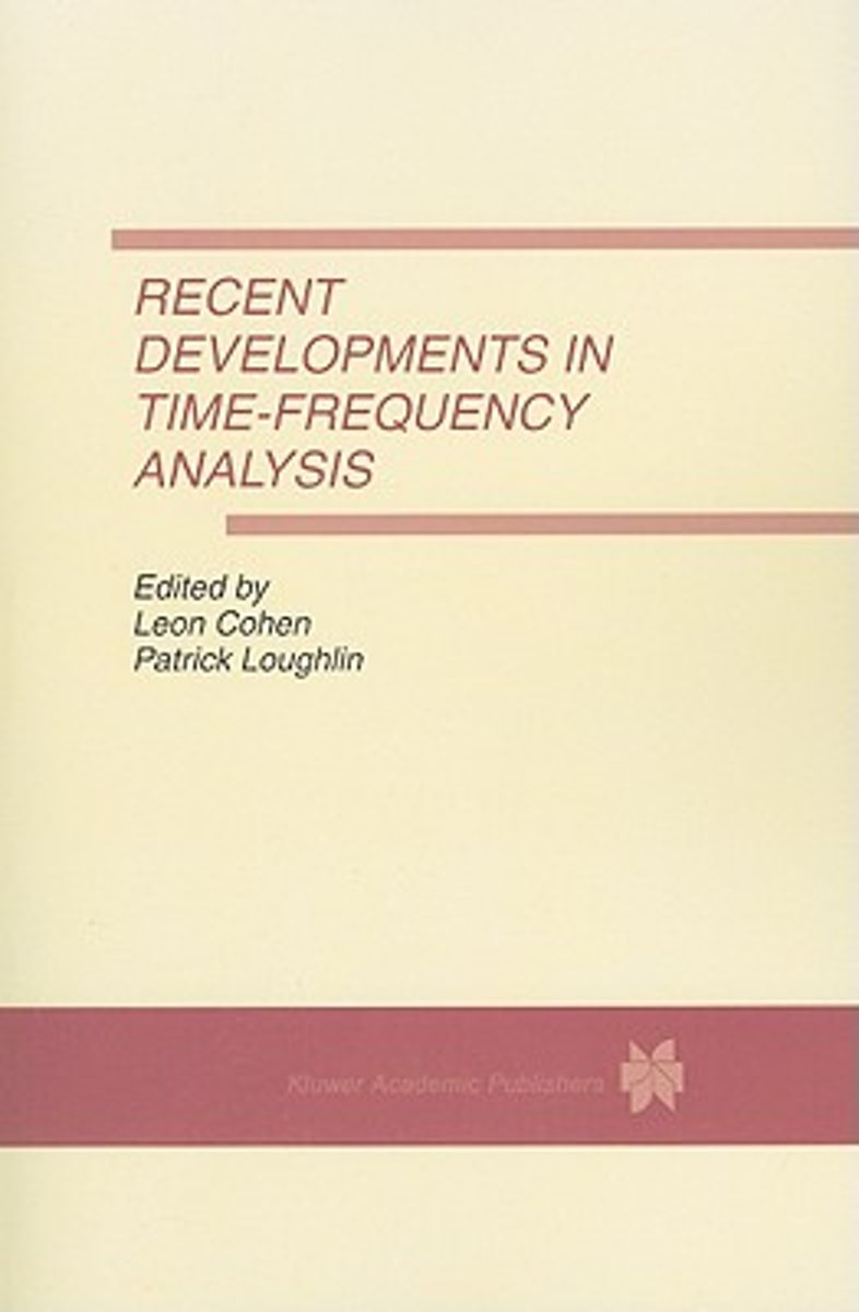 Recent Developments in Time-Frequency Analysis