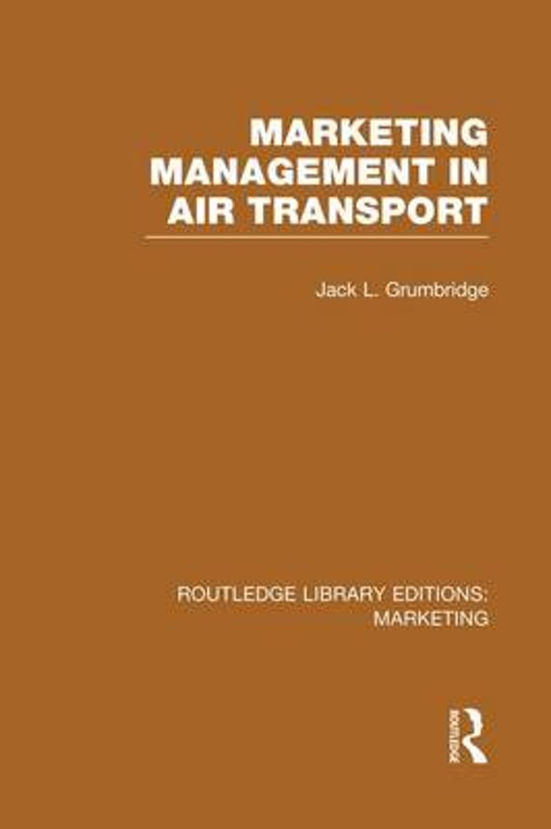 Marketing Management in Air Transport