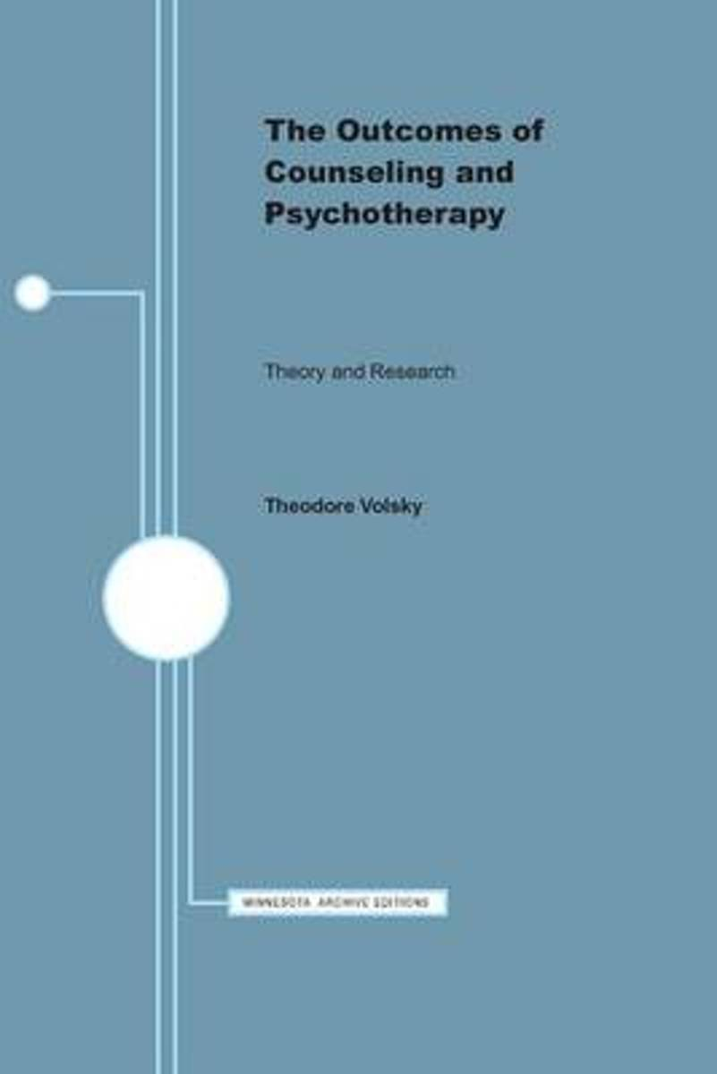 The Outcomes of Counseling and Psychotherapy