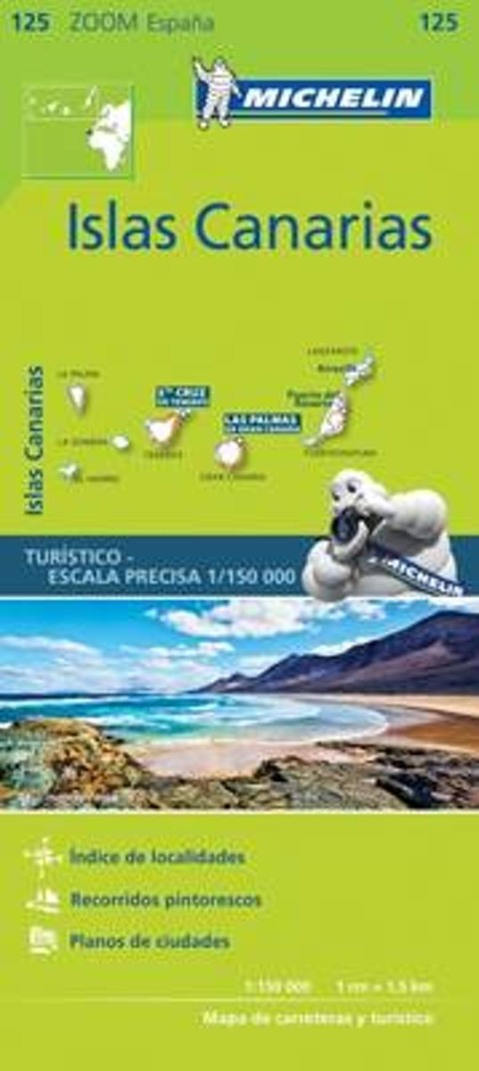 Iles Canaries - Zoom Map 125