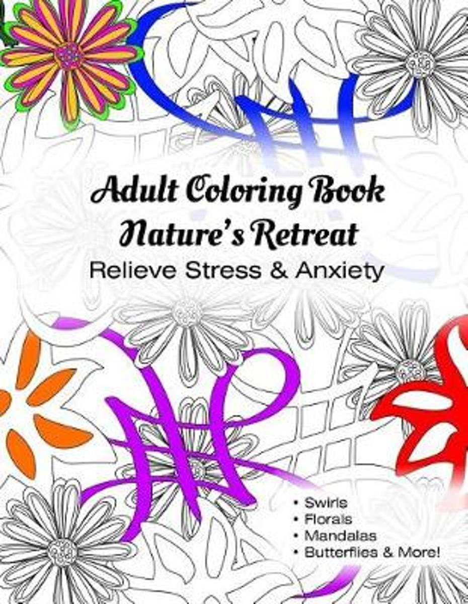 Adult Coloring Book Nature's Retreat
