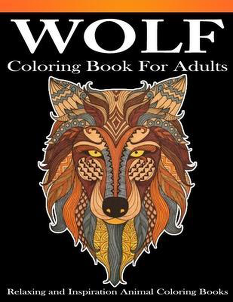 Wolf Coloring books for adults
