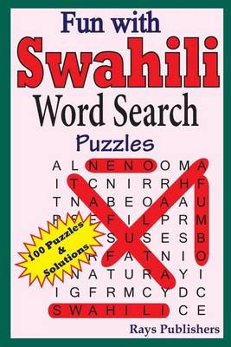 Fun with Swahili - Word Search Puzzles