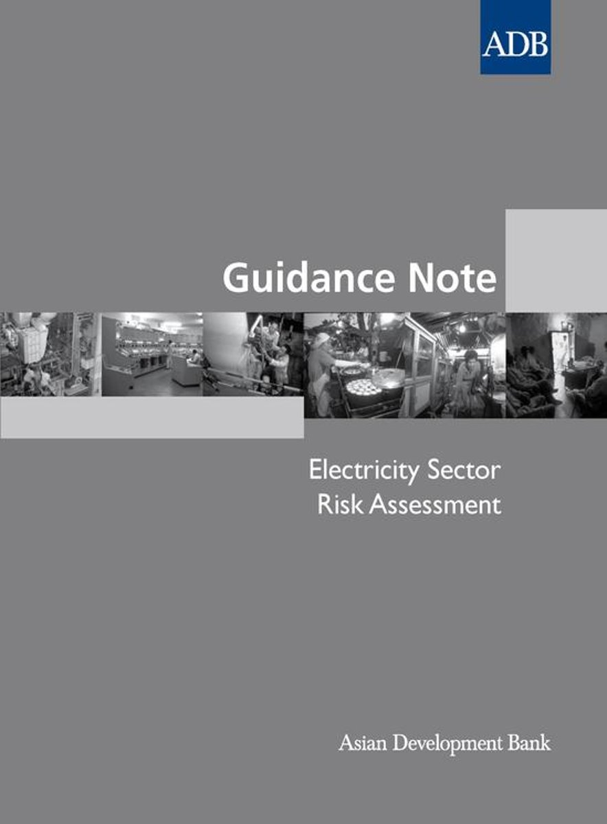 Guidance Note: Electricity Sector Risk Assessment,