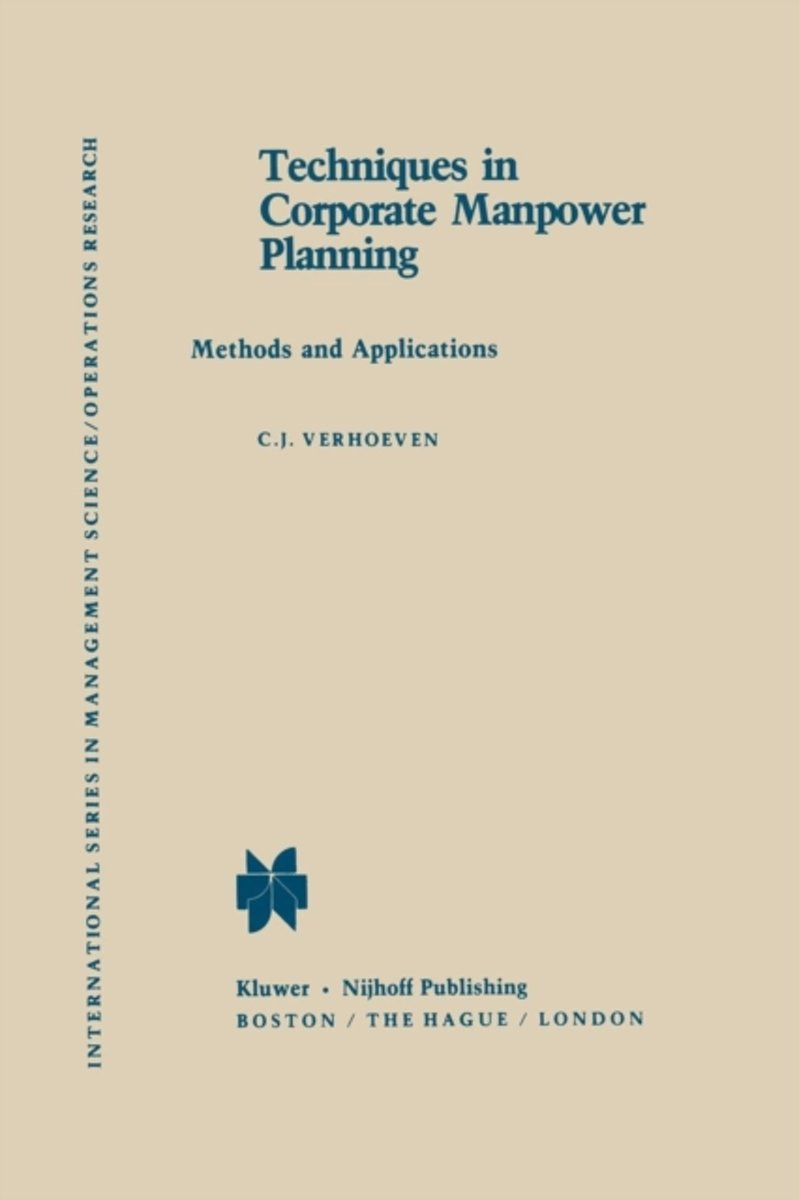 Techniques in Corporate Manpower Planning