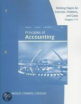 Working Papers For Principles Of Accounting, Chapters 1-17