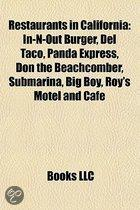 Restaurants In California: In-N-Out Burger, Del Taco, Panda Express, Don The Beachcomber, Roy's Motel And Cafe, Big Boy