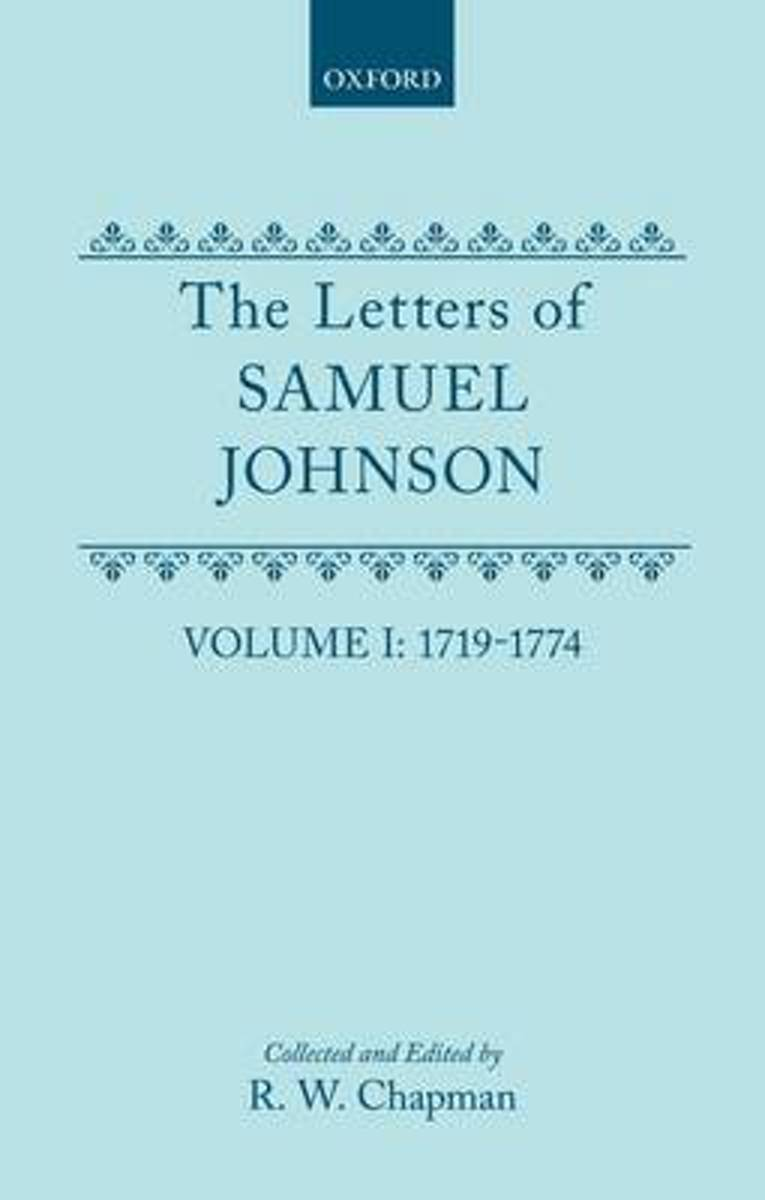 The letters of Samuel Johnson, with Mrs. Thrale's genuine letters to him