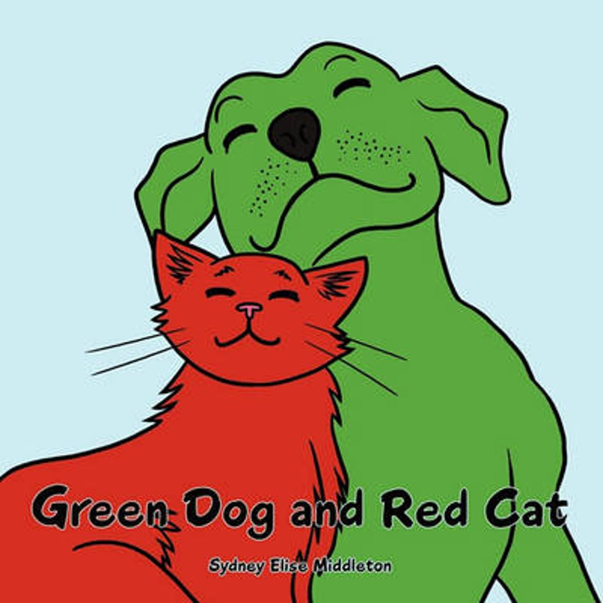 Green Dog and Red Cat