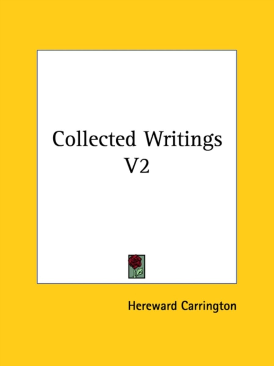 Collected Writings V2