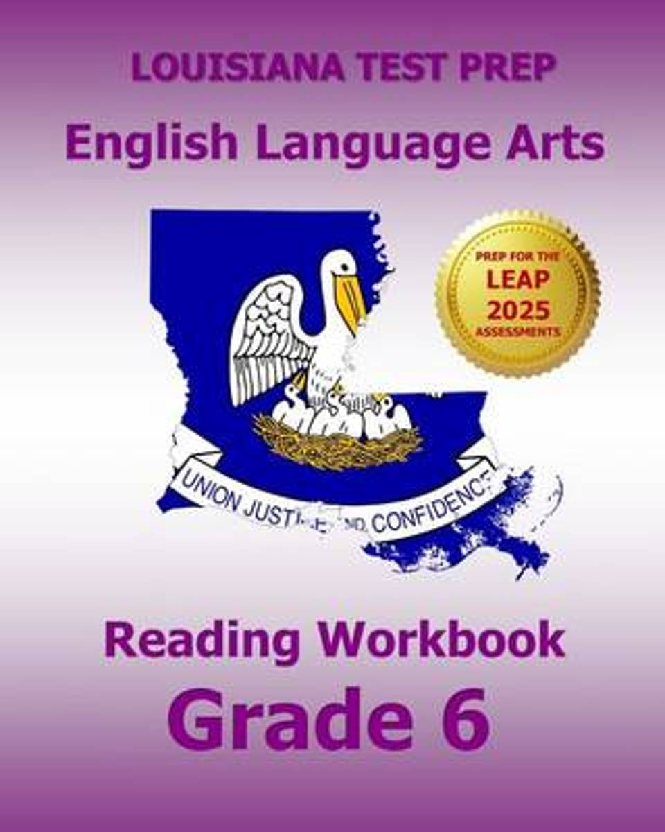Louisiana Test Prep English Language Arts Reading Workbook Grade 6