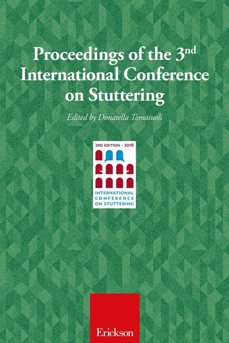 Proceeding of the 3rd international conference stuttering