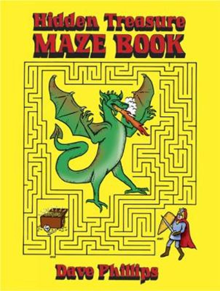 Hidden Treasure Maze Book
