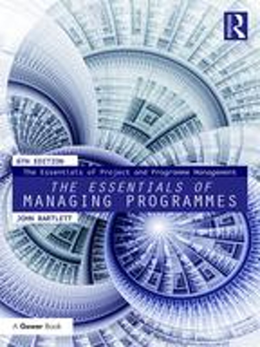 The Essentials of Managing Programmes