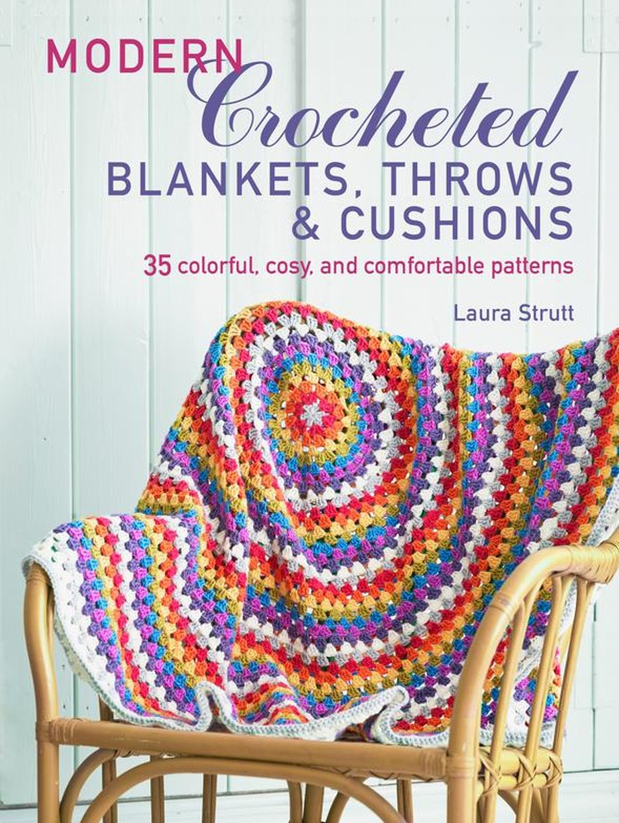 Modern Crocheted Blankets, Throws and Cushions (UK)