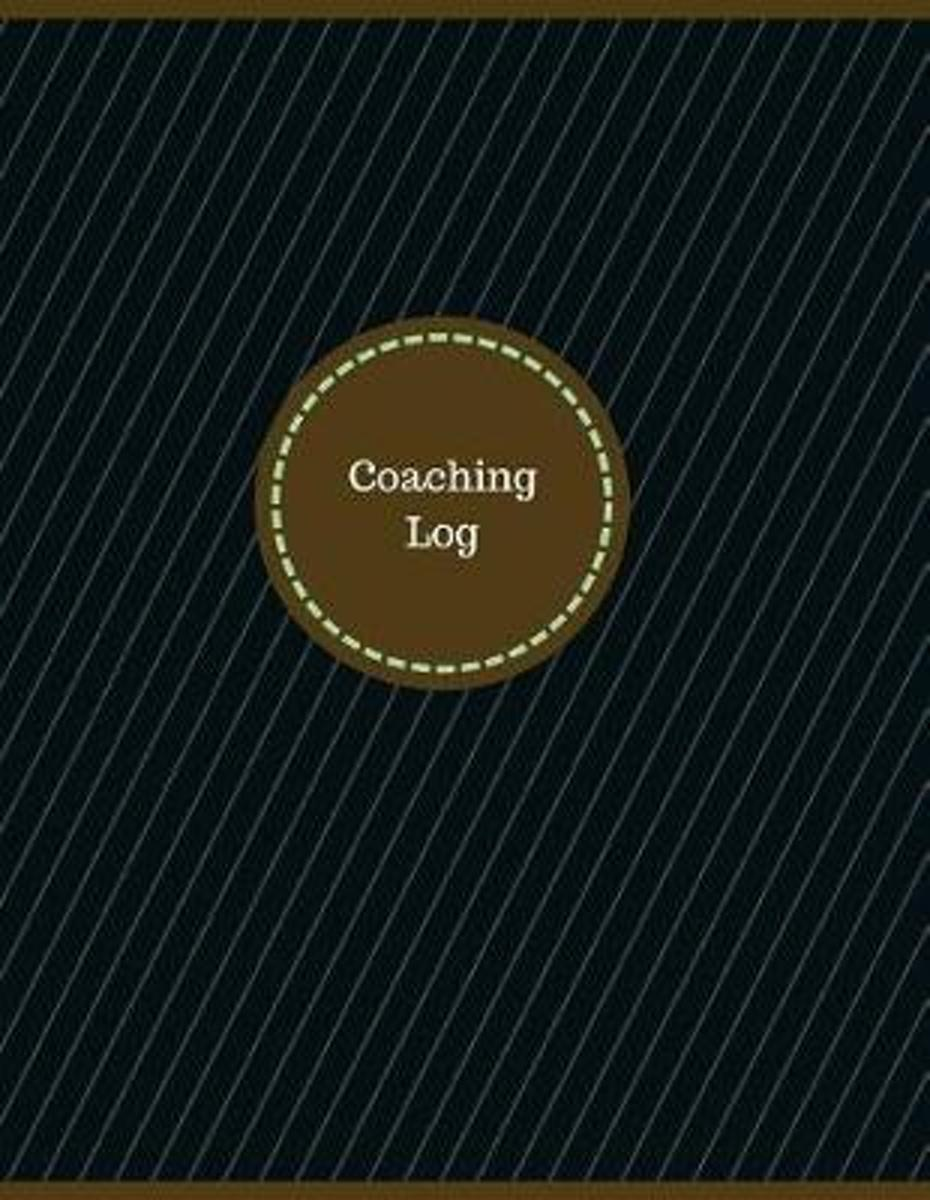Coaching Log (Logbook, Journal - 126 Pages, 8.5 X 11 Inches)