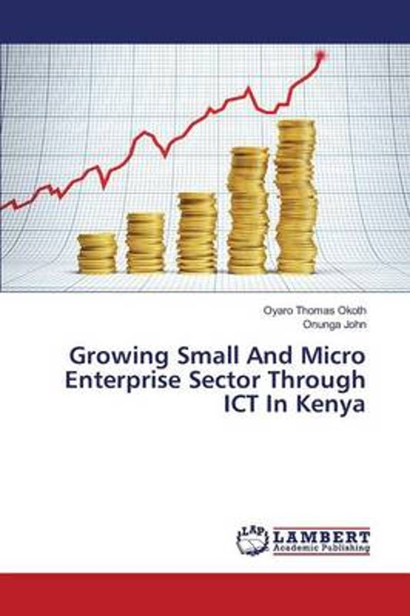 Growing Small and Micro Enterprise Sector Through Ict in Kenya