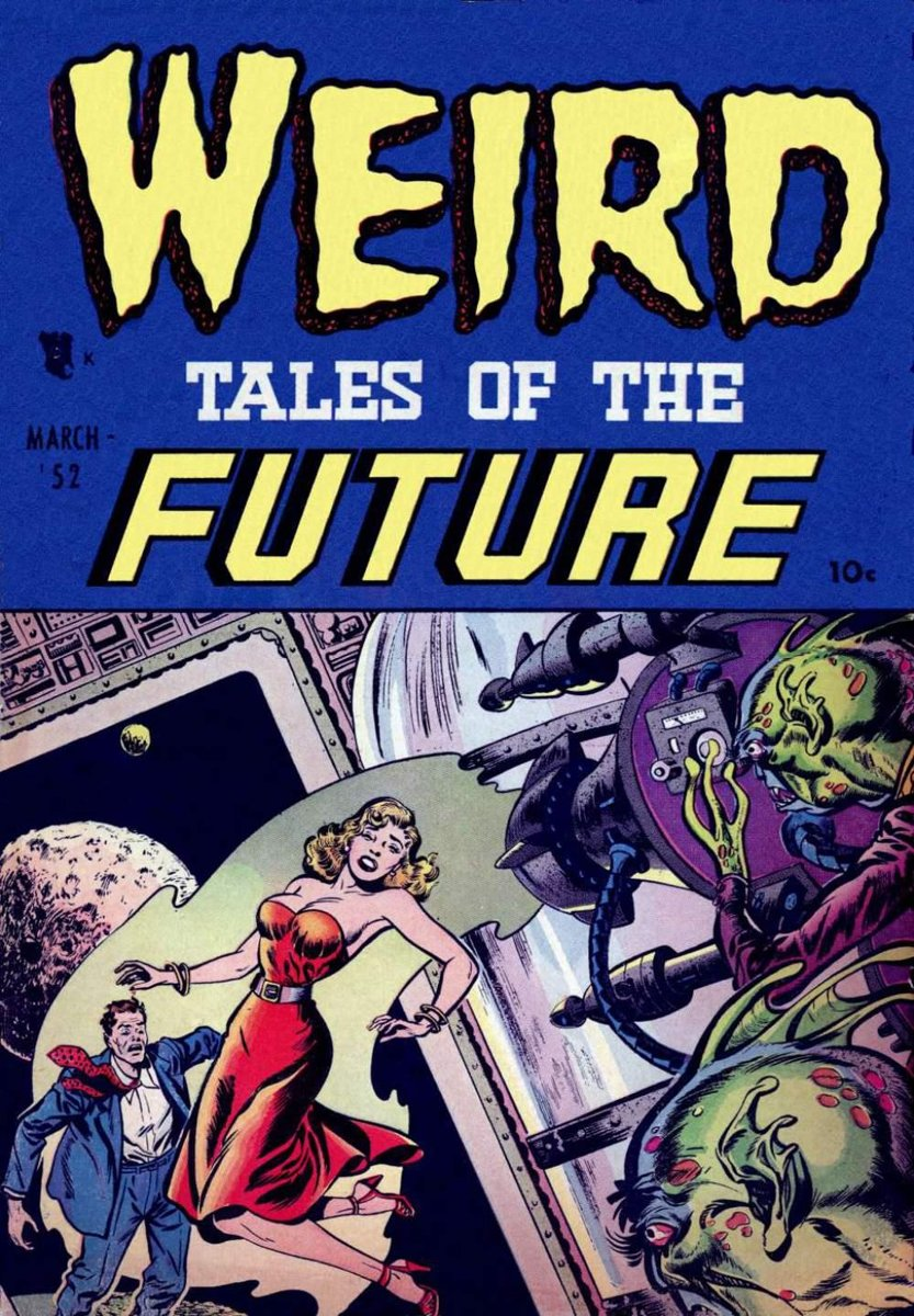 Weird Tales of the Future Five Issue Jumbo Comic