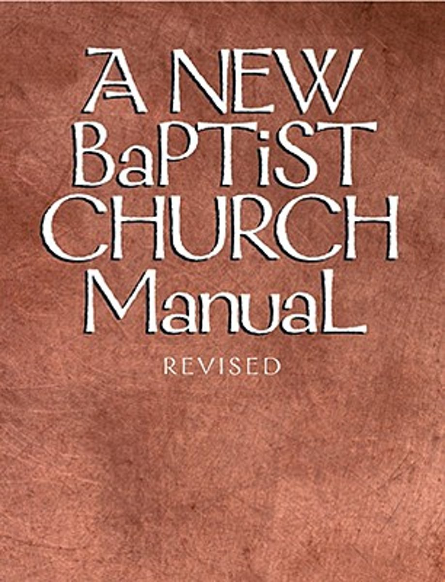 New Baptist Church Manual, a (Rev)