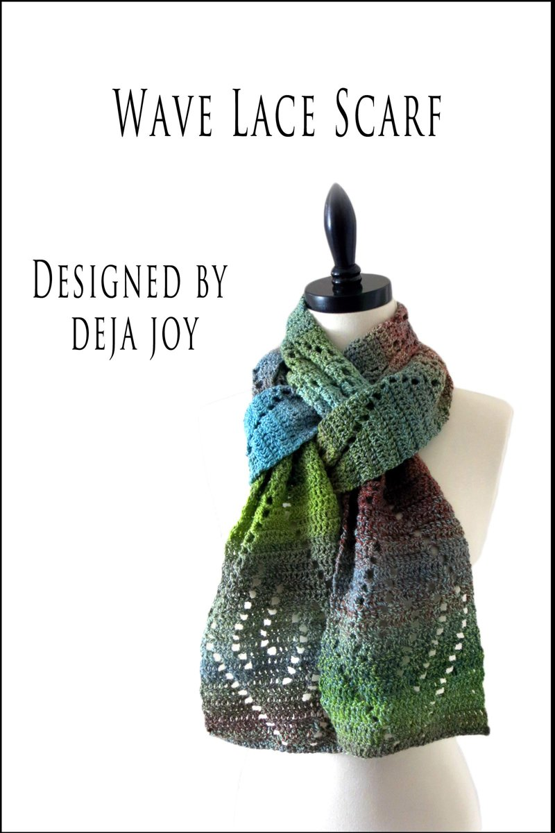 Wave Lace Scarf