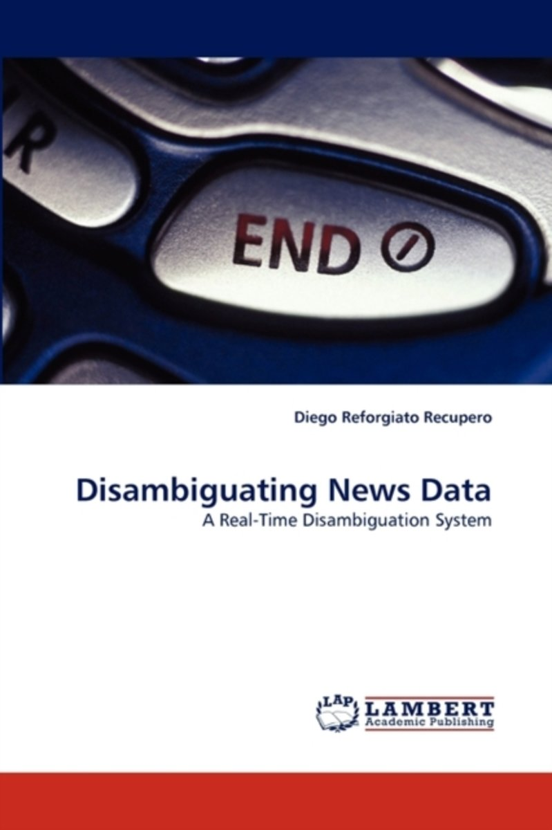 Disambiguating News Data