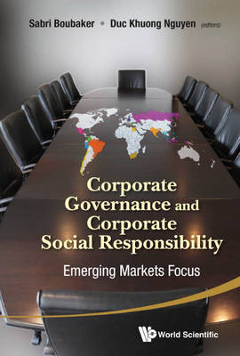 Corporate Governance And Corporate Social Responsibility