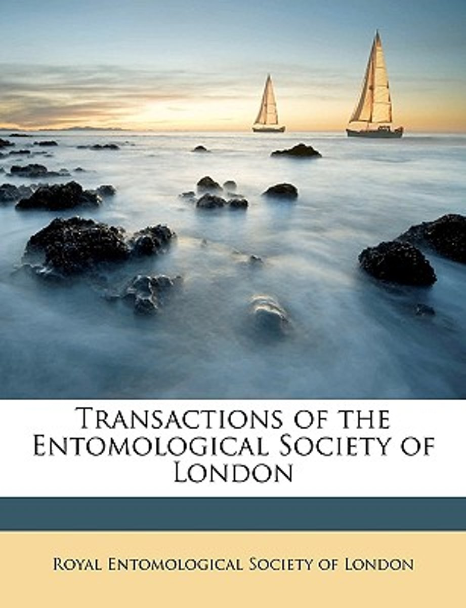 Transactions of the Entomological Society of London Volume 1907