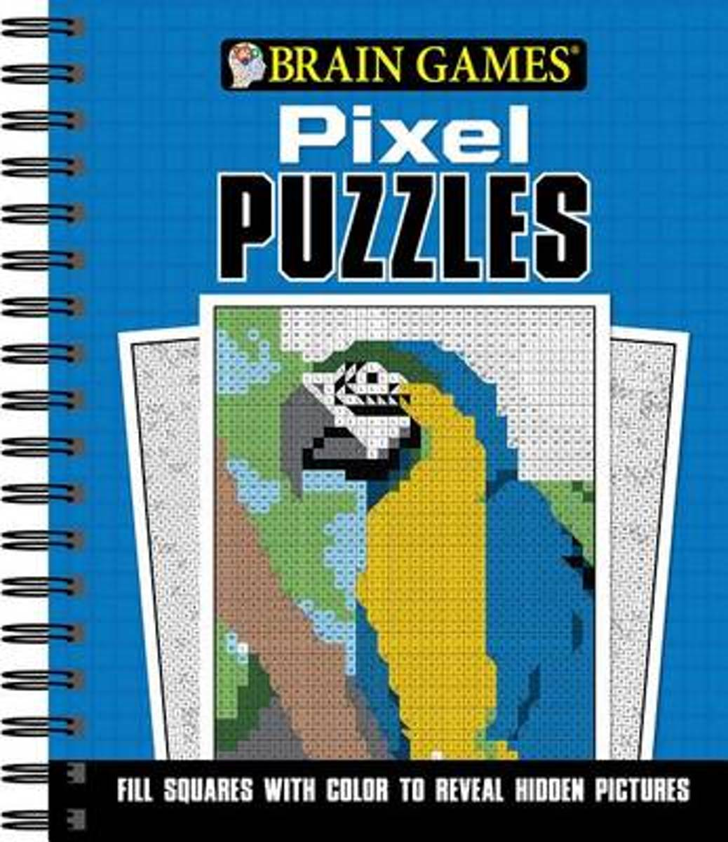 Brain Games Pixel Puzzles