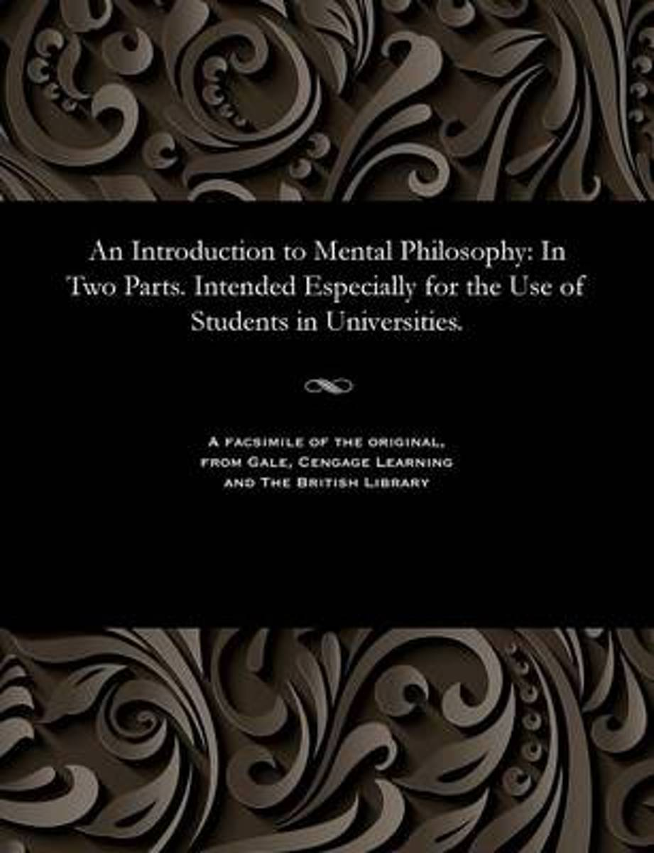 An Introduction to Mental Philosophy