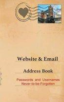 Website and Email Address Book