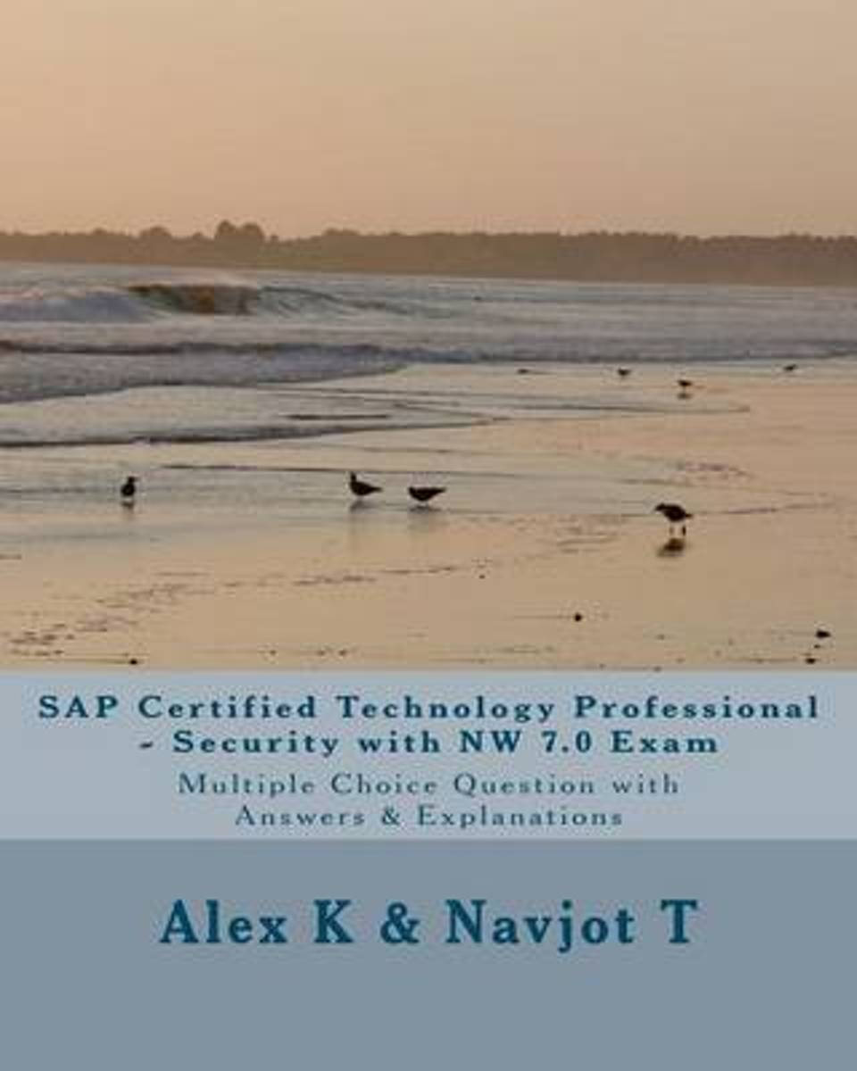 SAP Certified Technology Professional - Security with NW 7.0 Exam