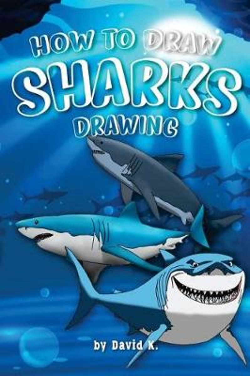 How to Draw Sharks Drawing