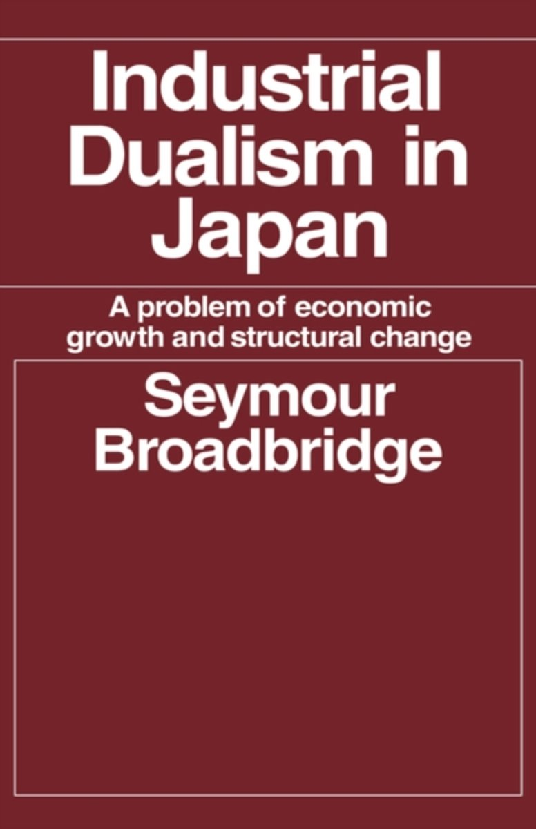 Industrial Dualism in Japan