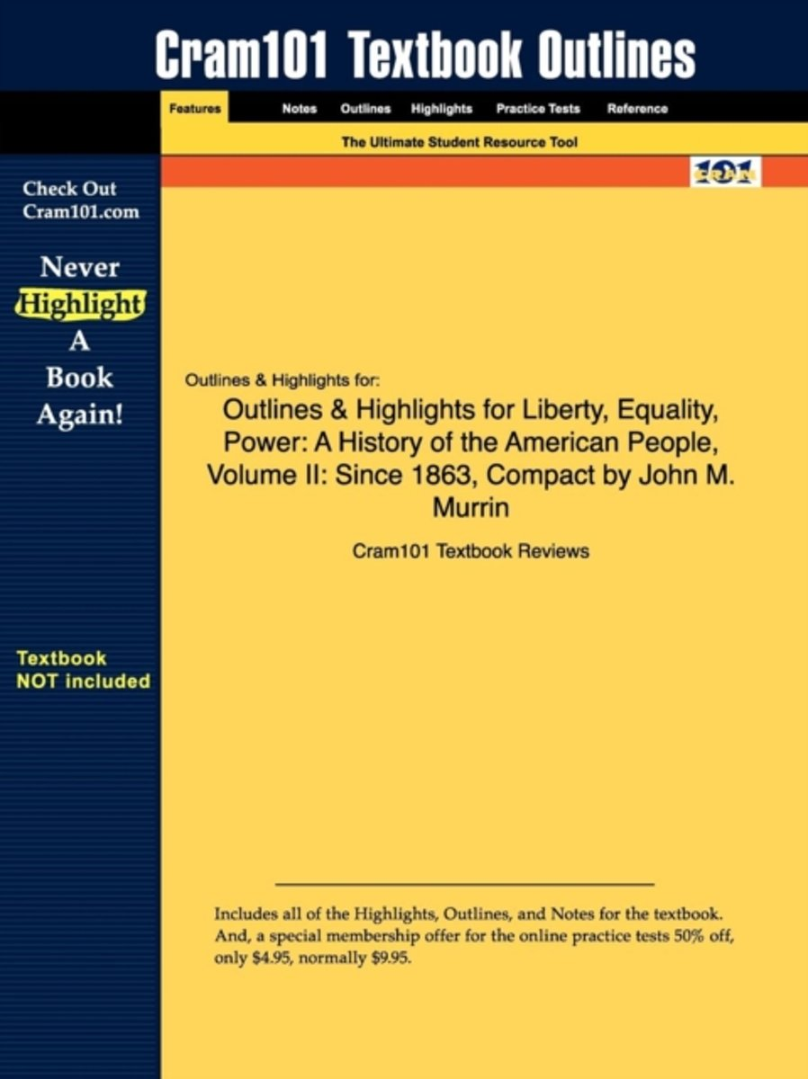Outlines & Highlights for Liberty, Equality, Power