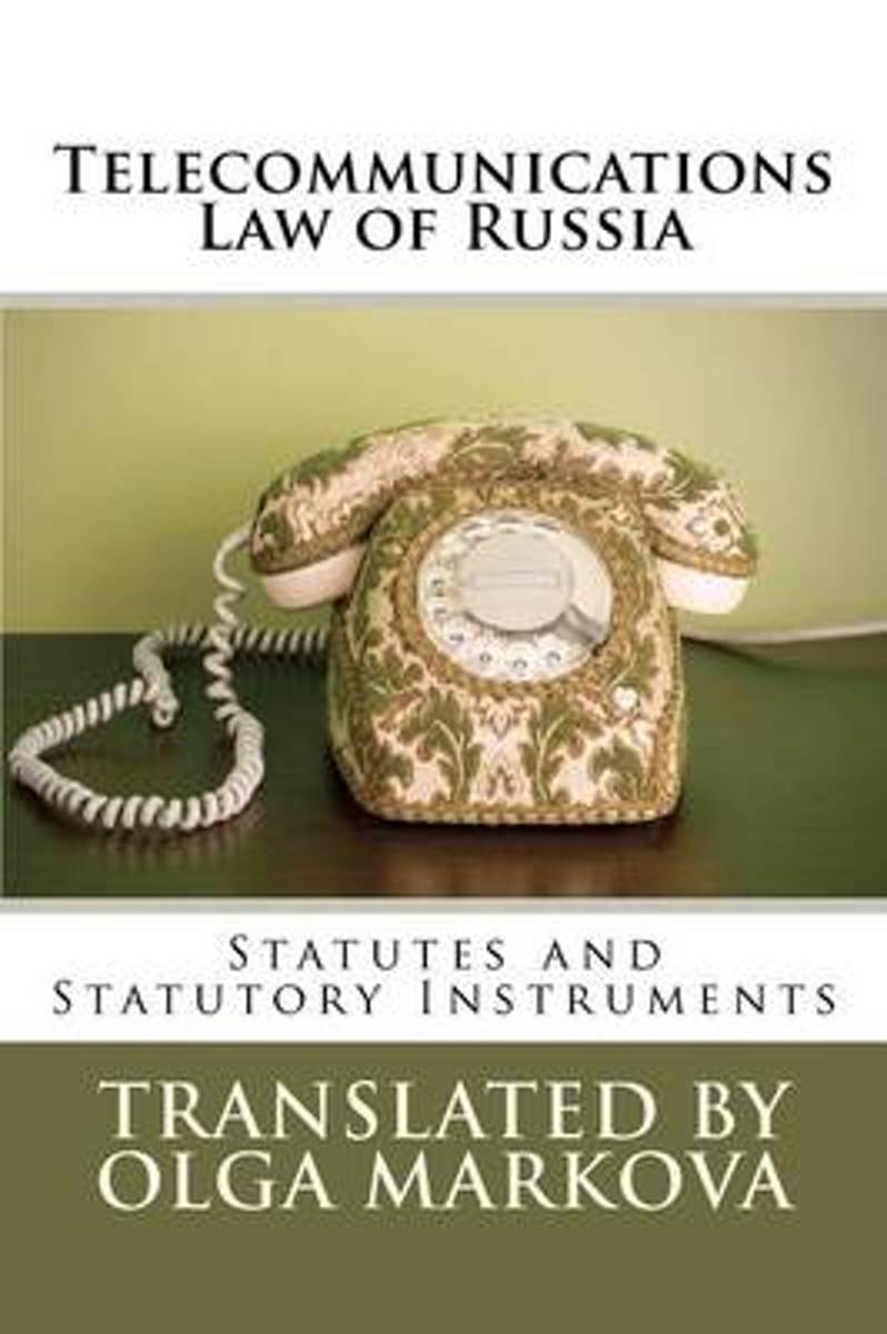 Telecommunications Law of Russia