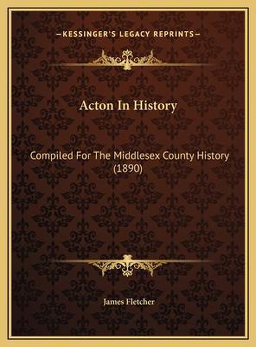 Acton in History
