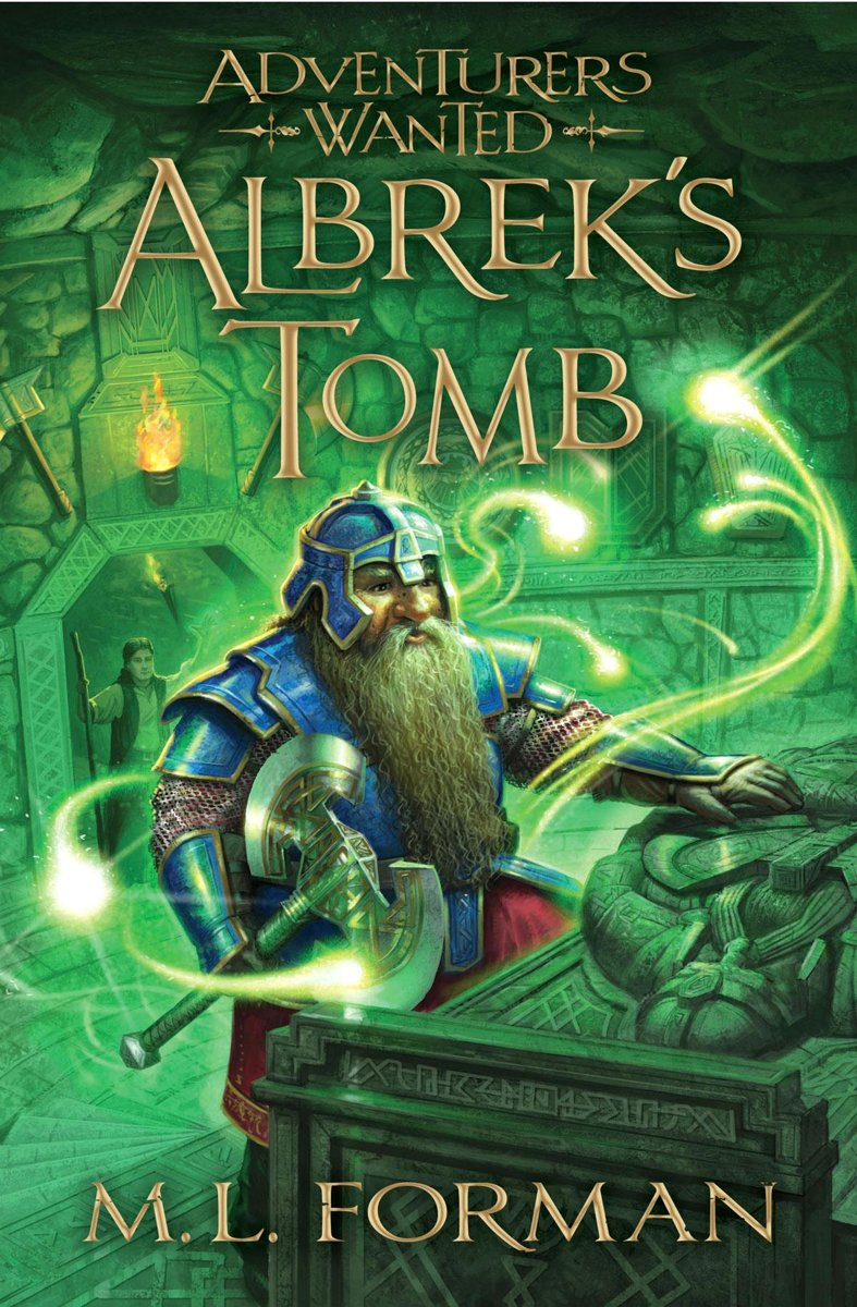 Adventurers Wanted, Book 3: Albrek's Tomb