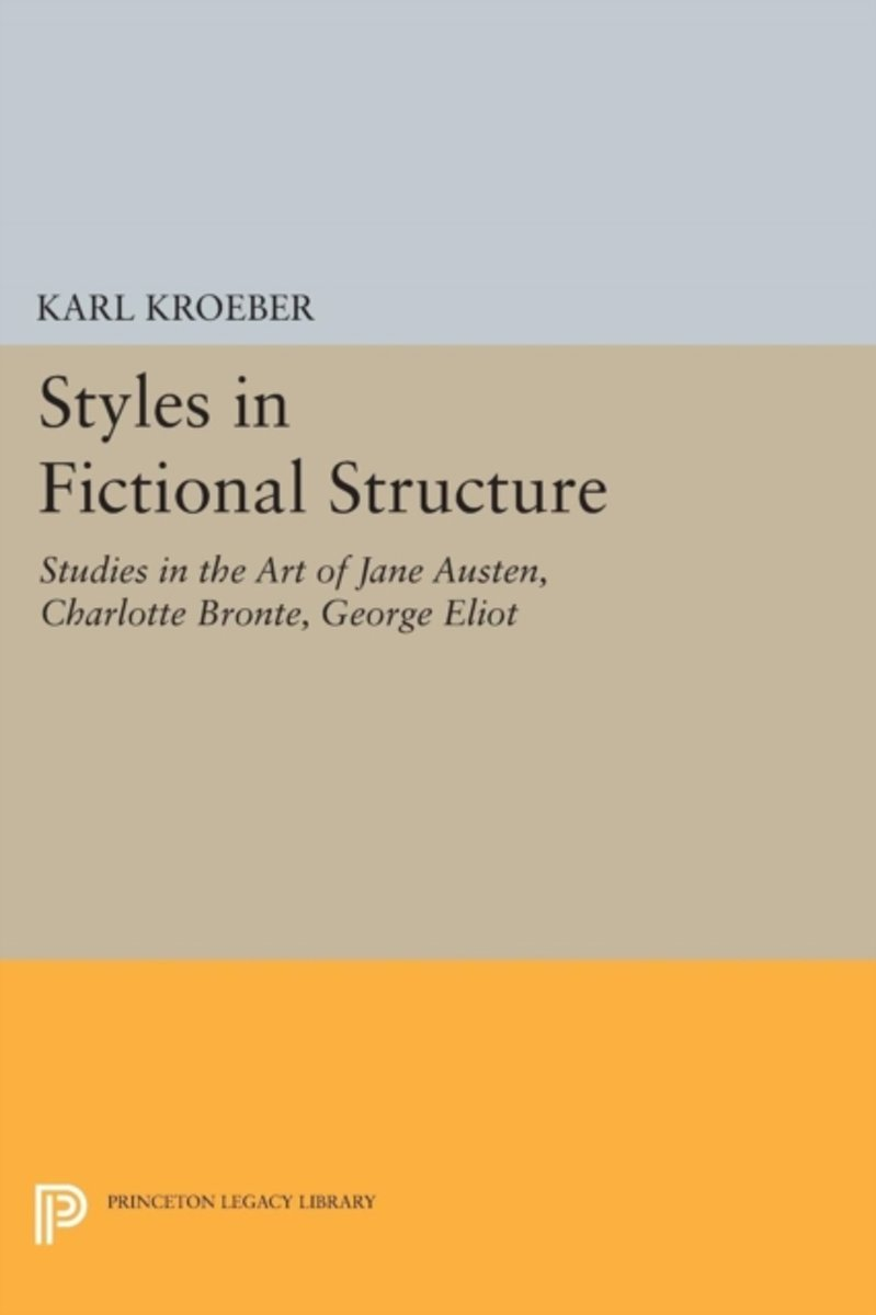 Styles in Fictional Structure