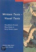 Written texts - visual texts