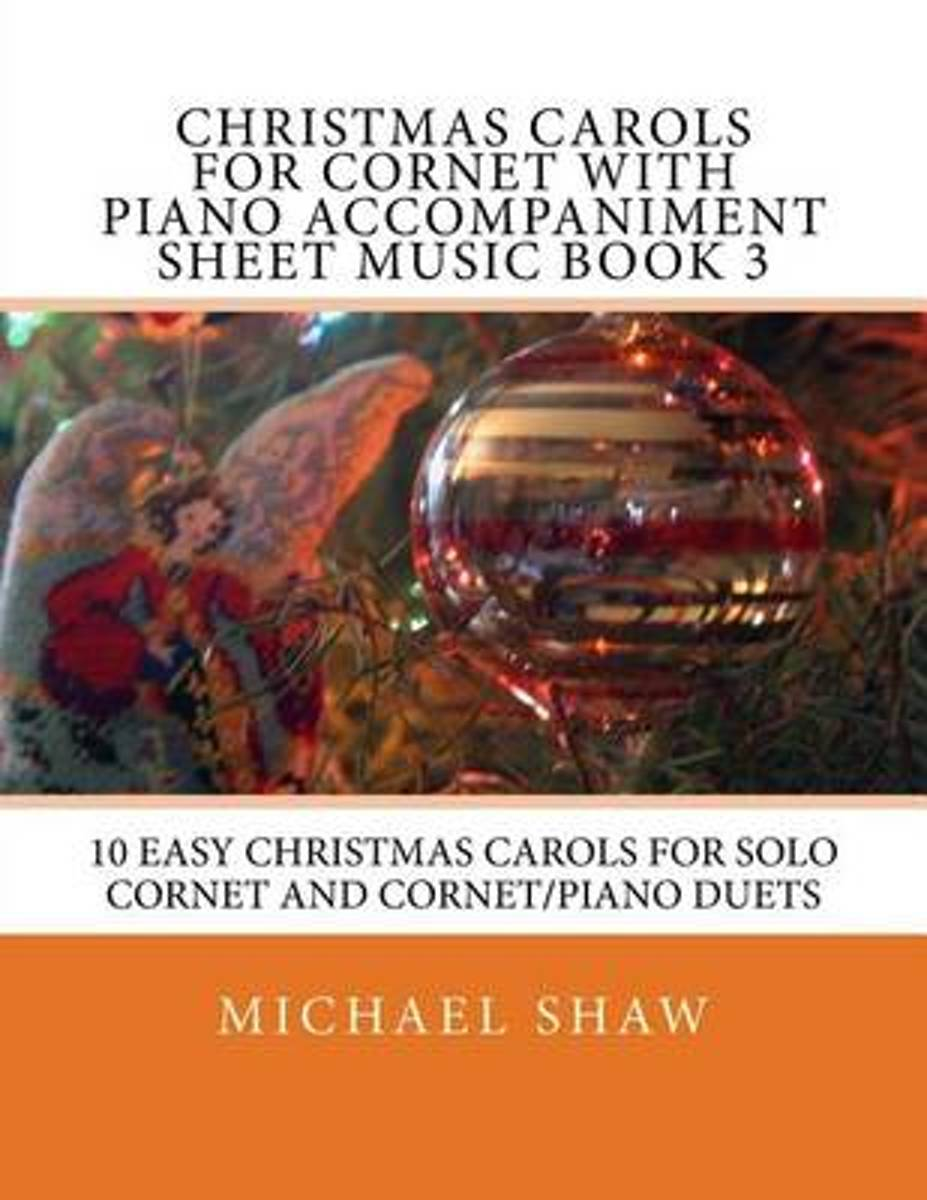 Christmas Carols for Cornet with Piano Accompaniment Sheet Music Book 3