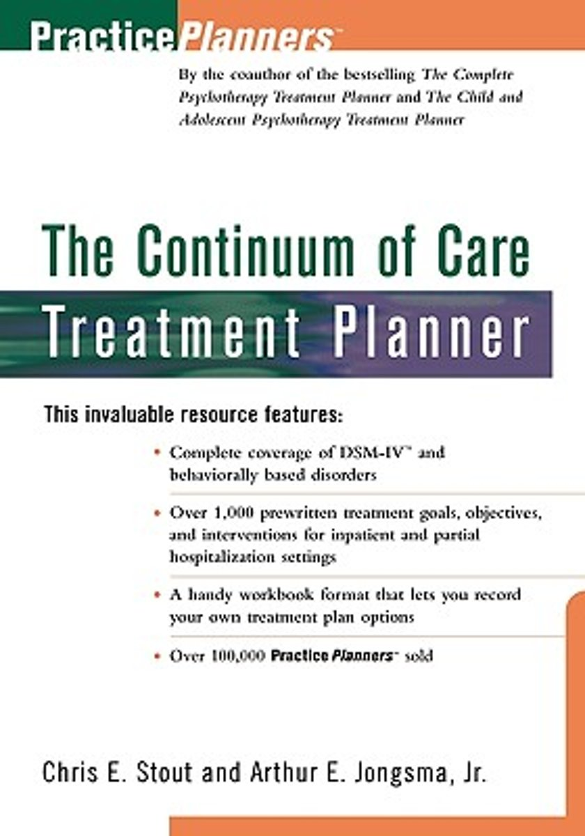 The Continuum of Care Treatment Planner