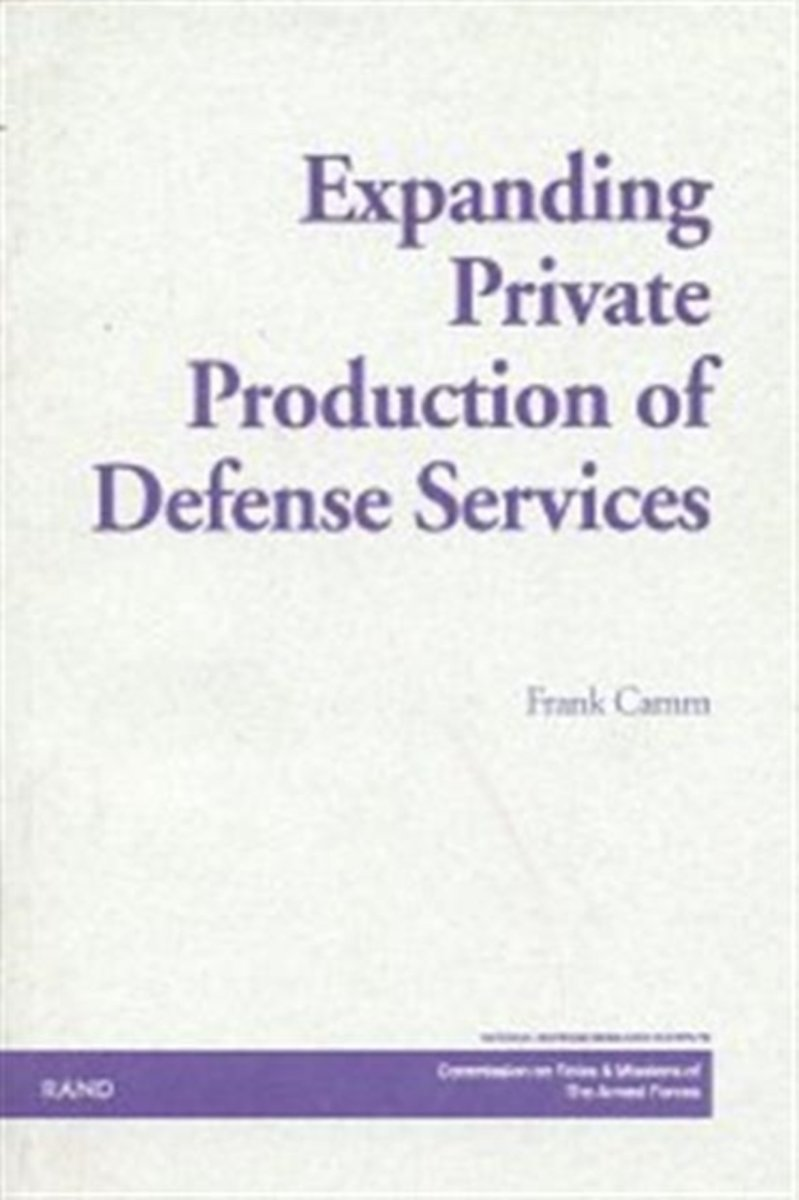 Expanding Private Production of Defense Services