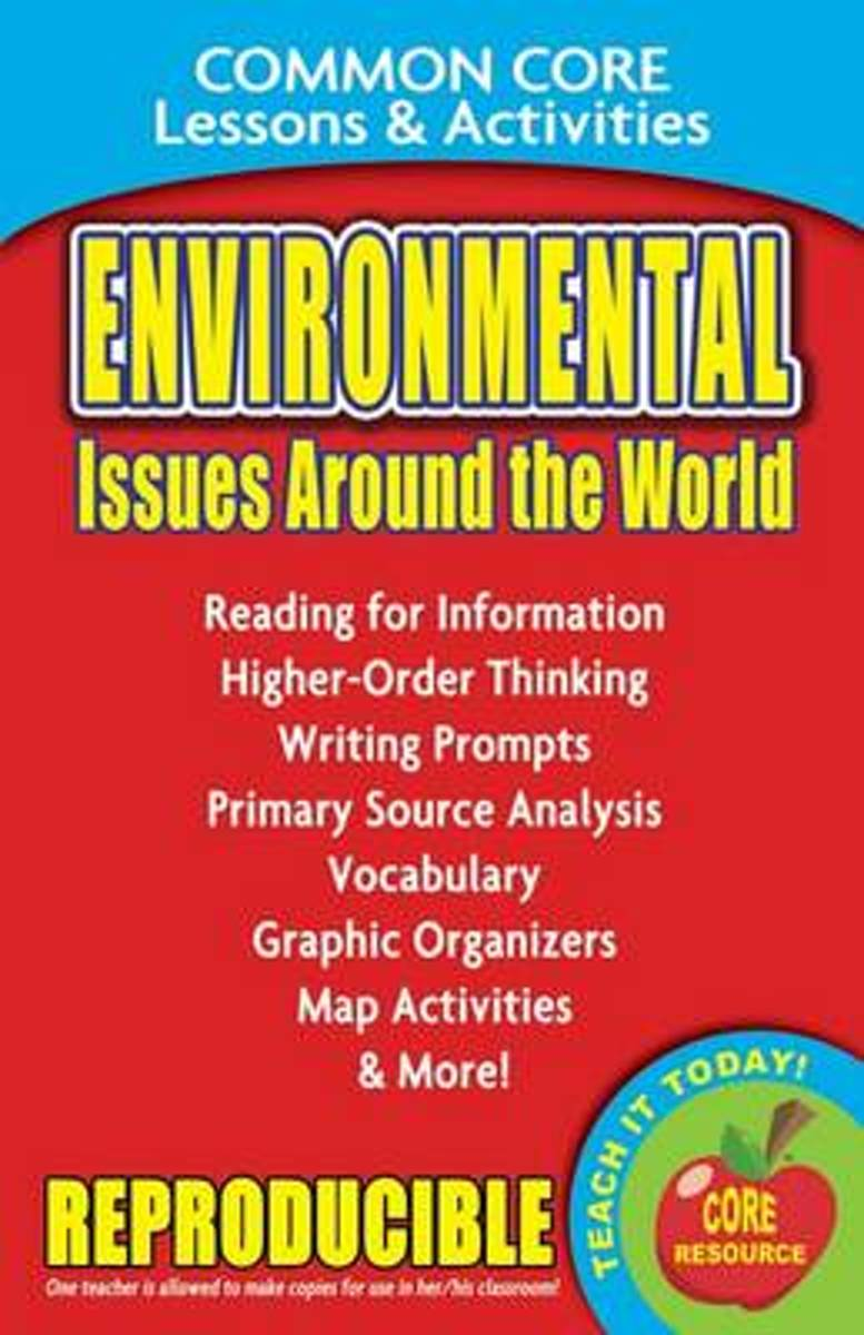 Environmental Issues Around the World - Common Core Lessons & Activities