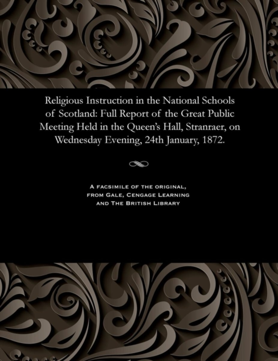 Religious Instruction in the National Schools of Scotland
